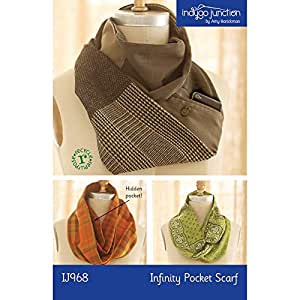 Indygo Junction Infinity Pocket Scarf Sewing Pattern