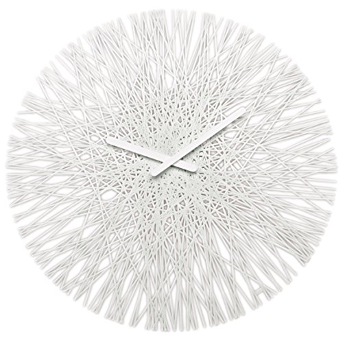 koziol SILK Wall Clock white