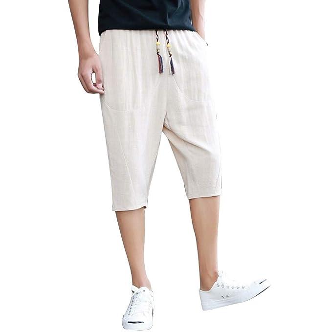 Pantalones Vaqueros Hombre Pantalones Bombachos Verdes Ropa ...
