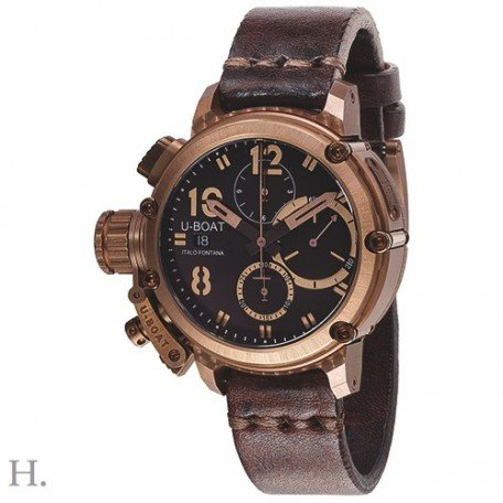 U-Boat 8014 Chimera Bronze Chrono 43mm 10ATM