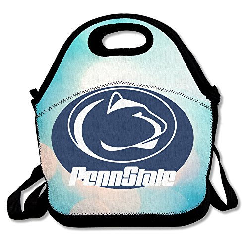 Bakeiy Penn State Nittany Lion Lunch Tote Bag Lunch Box Neoprene Tote For Kids And Adults For Travel And Picnic School (Running Costumes Pinterest)