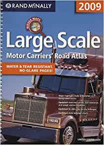 Large scale motor carriers 39 road atlas rand mcnally for Motor carriers road atlas download