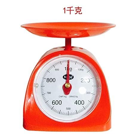 CYDKZMEPA 500 g de máquinas de Cocina balanza de Cocina Antigua Mesa de café mecánica Llamada