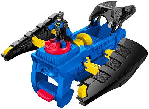 Fisher-Price Imaginext DC Super Friends, 2 In 1 Batwing (Fisher Price Imaginext Dc Super Friends The Batmobile)