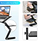 Laptop Stand for Bed, Wizgree Foldable Lap Desk
