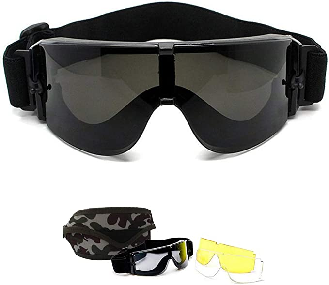 5ED4 Brillen Goggles Windproof  Anti-UV  Ski Anti-Fog