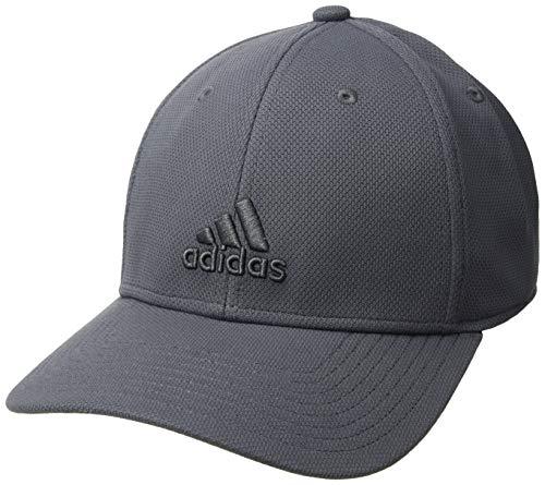 adidas Mens Standard Rucker Stretch Fit, Collegiate Navy/Grey, L/XL