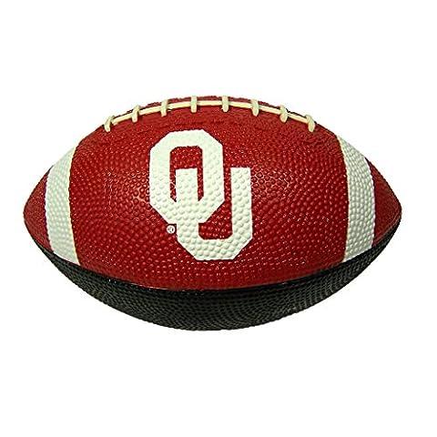 Oklahoma Sooners Youth CrimsonWhite Hail Mary Rubber Football - Boomer Football