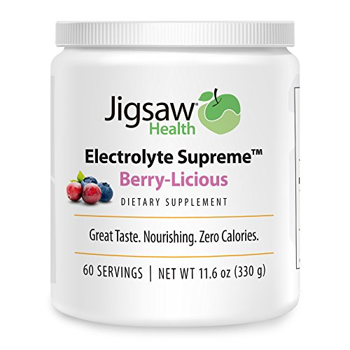 Jigsaw Health Electrolyte Berry Licious Servings