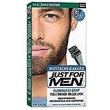 JUST FOR MEN Color Gel Mustache & Beard M-45, Dark Brown 1 Each