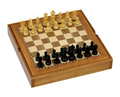Combination Board and Chess Set by Jaques of London (Jaques Of London Chess Sets)