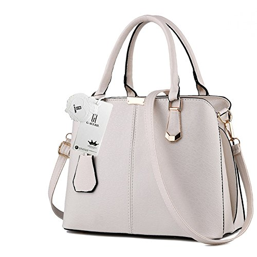 Handle Colour Beige Shoulder 2018 G Handbag 10 Top AVERIL Leather Women Look New Fashion Z1zzFq7w4