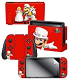 "Nintendo Switch Skin & Screen Protector Set – Super Mario Odyssey ""Wedding"" – Nintendo Switch Review"