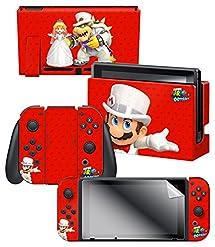 Amazon.com: Controller Gear Nintendo Switch Skin & Screen