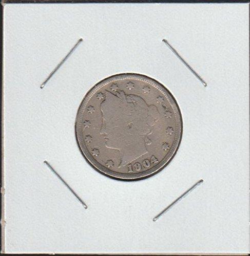 1904 Liberty Head Nickel Very Fine
