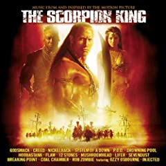 """Scorpion King ~ SoundtrackThe track listing reads like a who's who of the nu-metal genre, with brand-new songs from chart toppers including Godsmack, Creed, and Nickelback. Especially strong are System of a Down's orchestrated-meets-intense """"..."""
