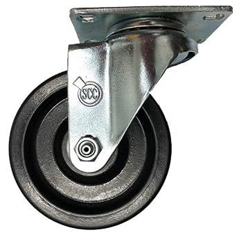 Service Caster 4 X 1 5 Brown High Temperature Phenolic Wheel Swivel 300 Lbs Com Scientific