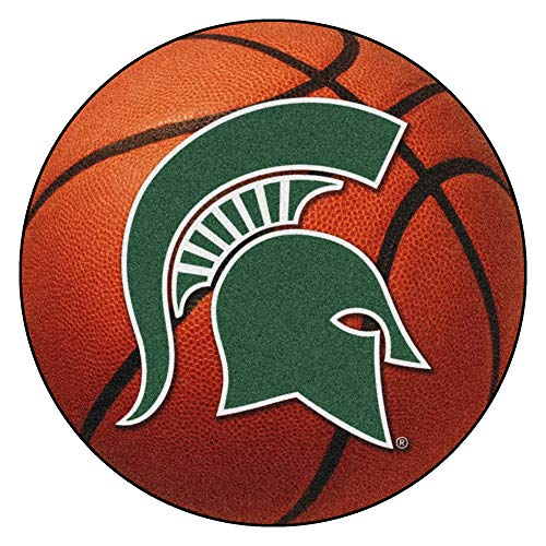 FANMATS NCAA Michigan State University Spartans Nylon Face Basketball ()