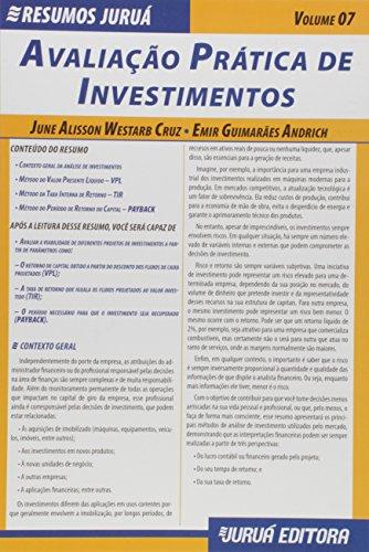 Avaliação Prática de Investimentos - Volume 7. Coleção Resumos Juruá