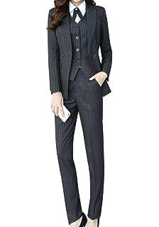 Amazon Com Yunclos Women S Elegant Business Two Piece Office Lady