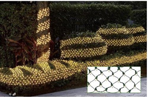 Holiday Time 150 Clear Ribbon Net Lights- 7.5 ft x 8 inches