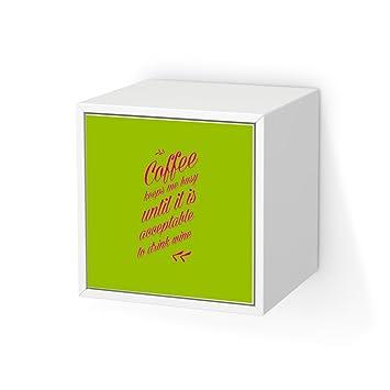 Möbeltattoo Für Ikea Valje Wandschrank 1 Tür (Quadratisch) | Klebefolie  Dekoration Möbel Aufkleber