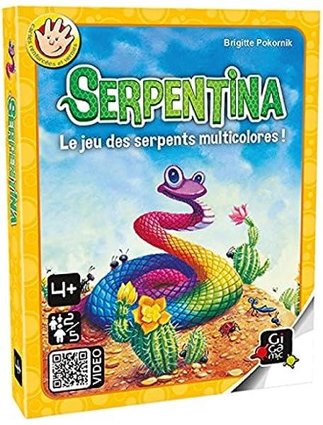 Gigamic amese – Juego de tarjeta – Serpentina , color/modelo surtido: Amazon.es: Juguetes y juegos