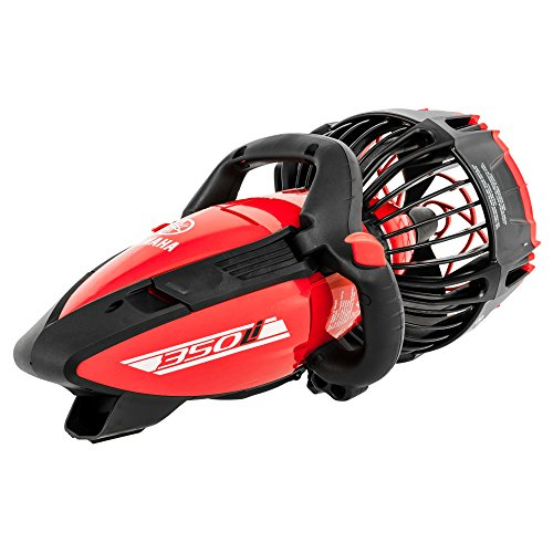 Yamaha 350Li Lithium Ion Battery 3 Speed Saltwater Scuba Diving Sea Scooter, Red