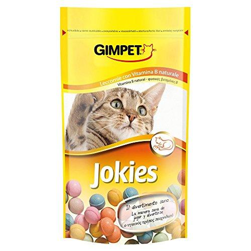 GIMPET para aperitivos gato jokies gr 50 - Golosinas de gatos