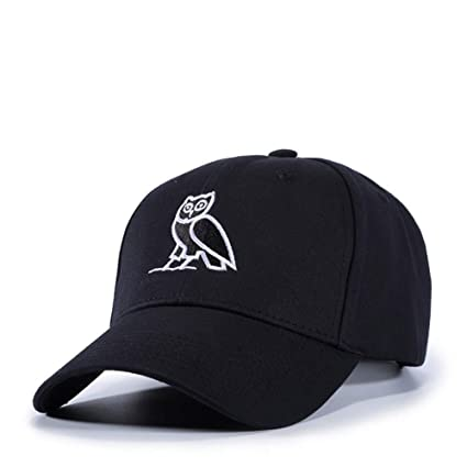 JJHR Gorra de béisbol para Gorras de béisbol Bordado Animal Búho Gorra De Béisbol De Algodón