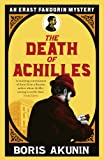 Front cover for the book The Death of Achilles by Boris Akunin