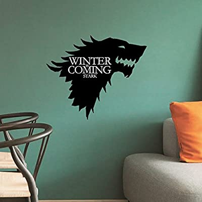 LPStar Removable Game of Thrones GOT Large Westeros Wall Decor Decals Murals Home Decoration Sticker 18x15 inch