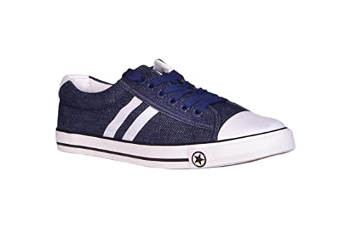 8b54c6bc4c5 Ego CPM Men s Premier Sneakers Casual Shoes Navy Color 10(UK India) Size   Amazon.in  Shoes   Handbags