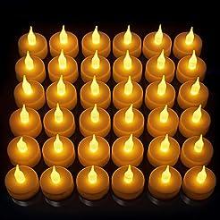 LED Candles, Lasts 2X Longer, Realistic ...