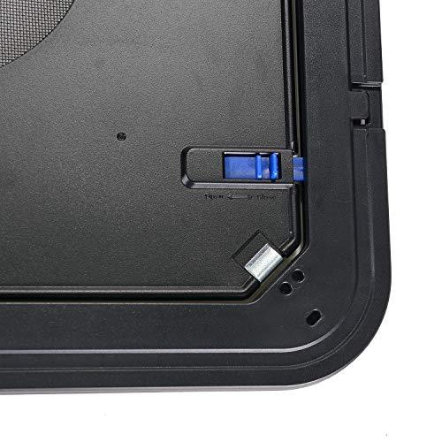 OWNPETS Dog Screen Door, Lockable Pet Screen Door, Magnetic Self-Closing Screen Door with Locking Function, Sturdy Screen Door for Dog Cat by OWNPETS (Image #1)