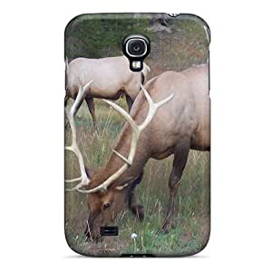 High-quality Durable Protection Case For Galaxy S4(red Deer) wangjiang maoyi