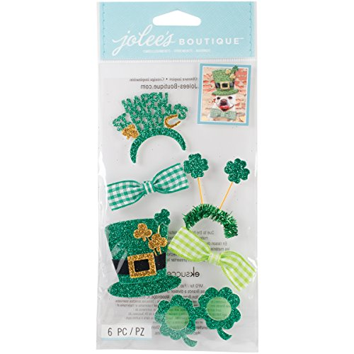 Jolees Boutique Dimensional Stickers, St. Patrick's Day Dress Up