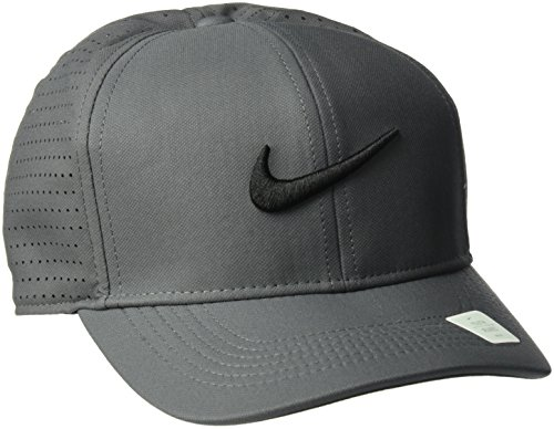 NIKE Youth Classic 99 Cap, Dark Grey/Anthracite/Black, One Size