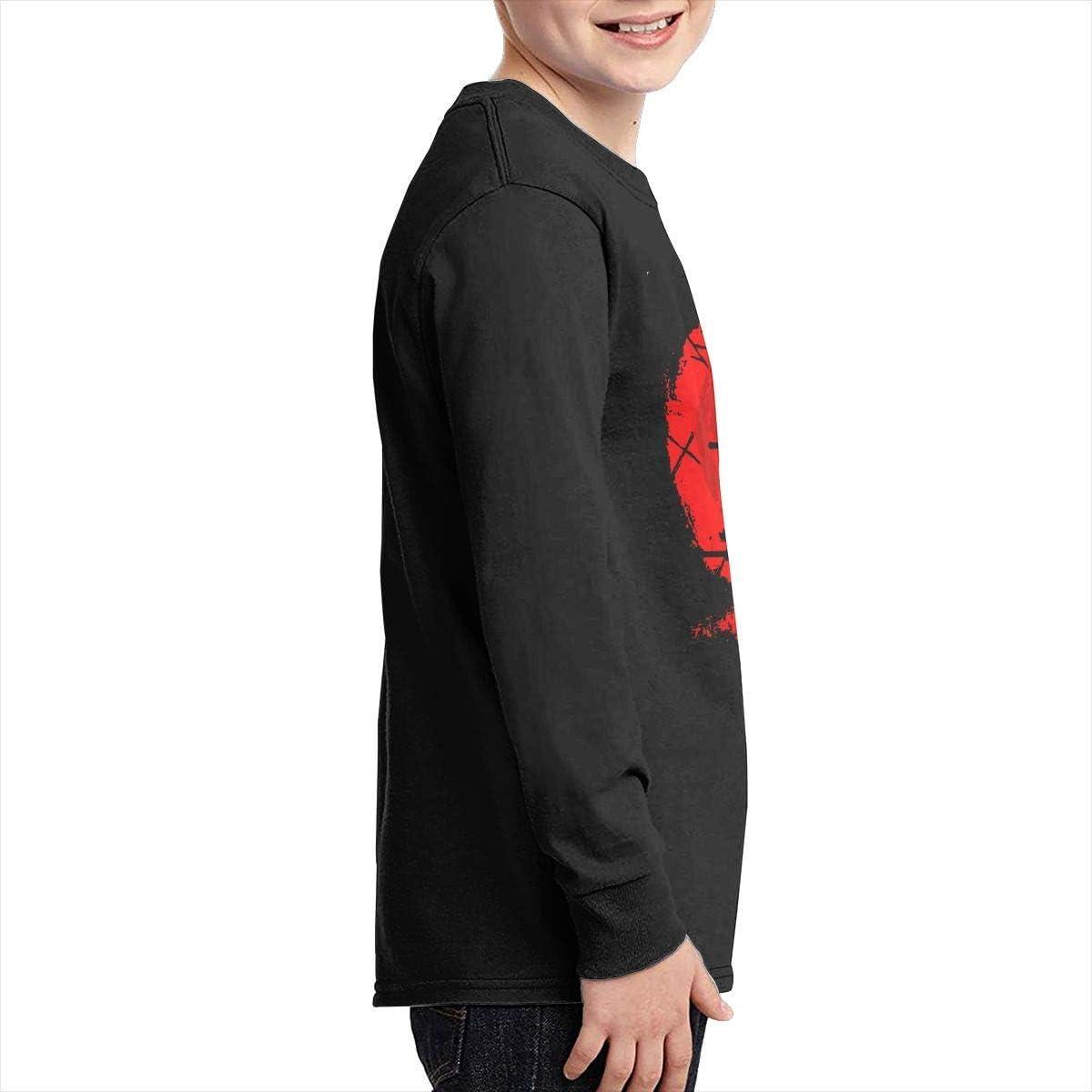 Kilsd Boys /& Girls Junior Cool God of War 4 Long Sleeve Tshirts Black
