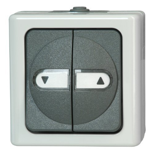 Kopp Blue Electric 561556004 Window Blind Switch with Reverse Lock by Kopp