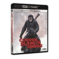 La Guerra Del Planeta De Los Simios Blu-Ray Uhd [Blu-ray]
