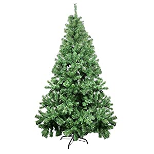 CelebrationLight Christmas Tree - Xmas Tree - Artificial Christmas Pine Trees - 1000 Branch Tips for Lush Looking - 3 Separable Sections - Tree Stand - Holiday Decorations - 7ft Christmas Tree 2