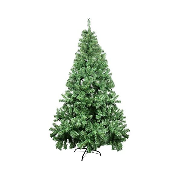 CelebrationLight-Christmas-Tree-Xmas-Tree-Artificial-Christmas-Pine-Trees-1000-Branch-Tips-for-Lush-Looking-3-Separable-Sections-Tree-Stand-Holiday-Decorations-7ft-Christmas-Tree