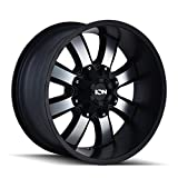 ION 189 Wheel with Machined Finish (20x9'/6x107.95mm, 0mm offset)