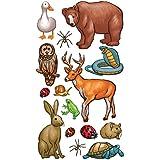 Sticko Sticko Classic Sticker, Forest Animals