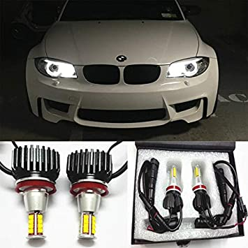 For BMW 1 Series E82 Blue LED /'Trade/' Wide Angle Side Light Beam Bulbs Pair