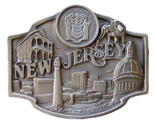 New Jersey Novelty Belt Buckle