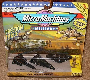 (Micro Machines Military Covert Command #14 Collection)