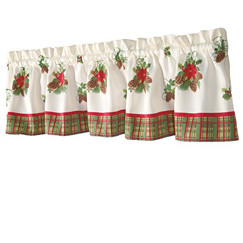 Christmas Curtains For Kitchen Simple Decorating Design
