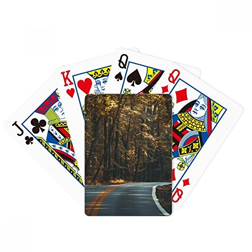 beatChong Road Grass Forest Autumn Travel Dark Poker Playing Cards Tabletop Game Gift by beatChong